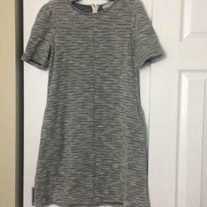 Black & White Tweed shift dress